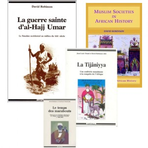 Book Covers Muslim related history books that take place in Africa