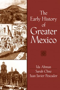 Book Cover the early history of greater Mexico