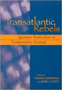 Book Cover Transatlantic Rebels: Agrarian Radicalism in Comparative Context