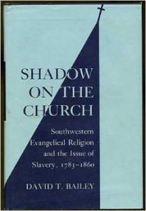 Book Cover Shadow on the Church