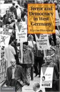 Book Cover Terror and Democracy in West Germany by Karrin Hanshew