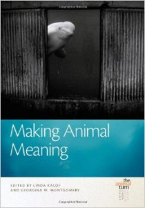 Book Cover Making Animal Meaning (The Animal Turn) by Georgina Montgomery