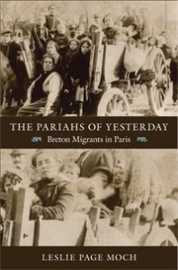 Book Cover The Pariahs of Yesterday: Breton Migrants in Paris