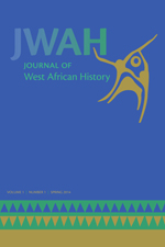 Journal Cover Journal of West African History