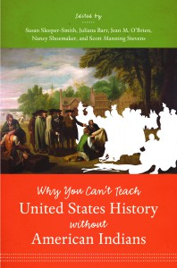 Book Cover Why you can't teach United States History without American Indians