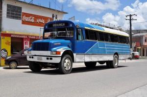 Oaxaca bus