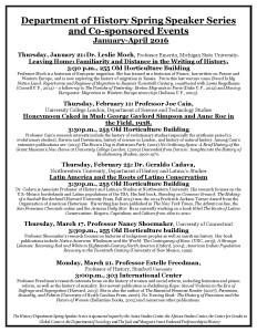MSU History Department Spring 2016 Speaker Series-page-001