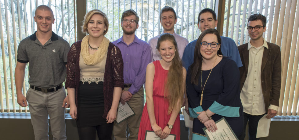 Our 2015/16 Undergraduate Award Winners