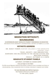 Migration With(out) Boundaries Keynote @ International Cnt